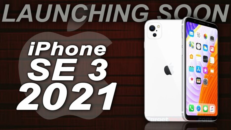 Leaked iPhone SE 3, Release April 2021